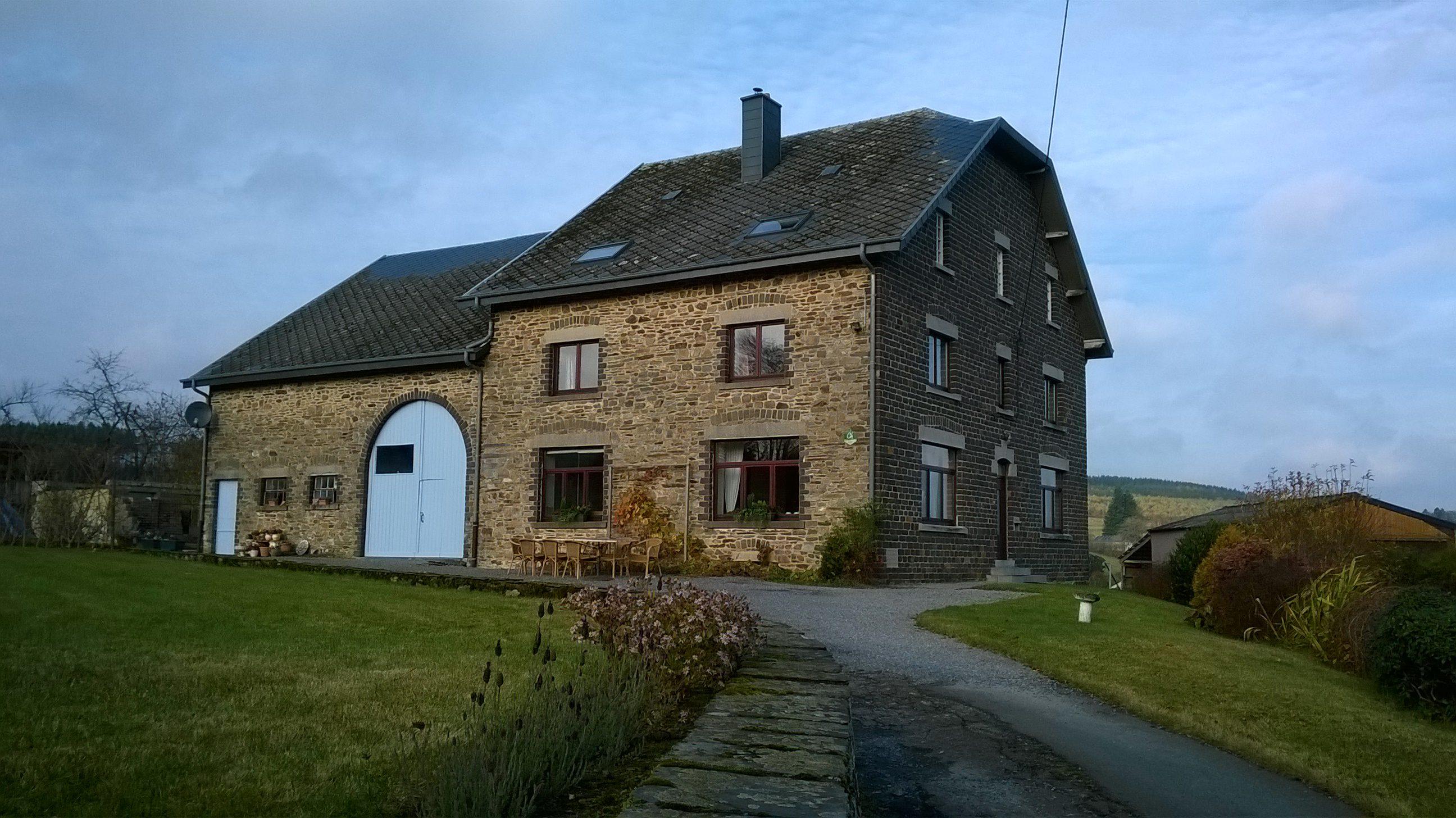 VERKOCHT: Bed and Breakfast in de Belgische Ardennen, Grandmenil, in provincie Luxemburg (België) Te Koop