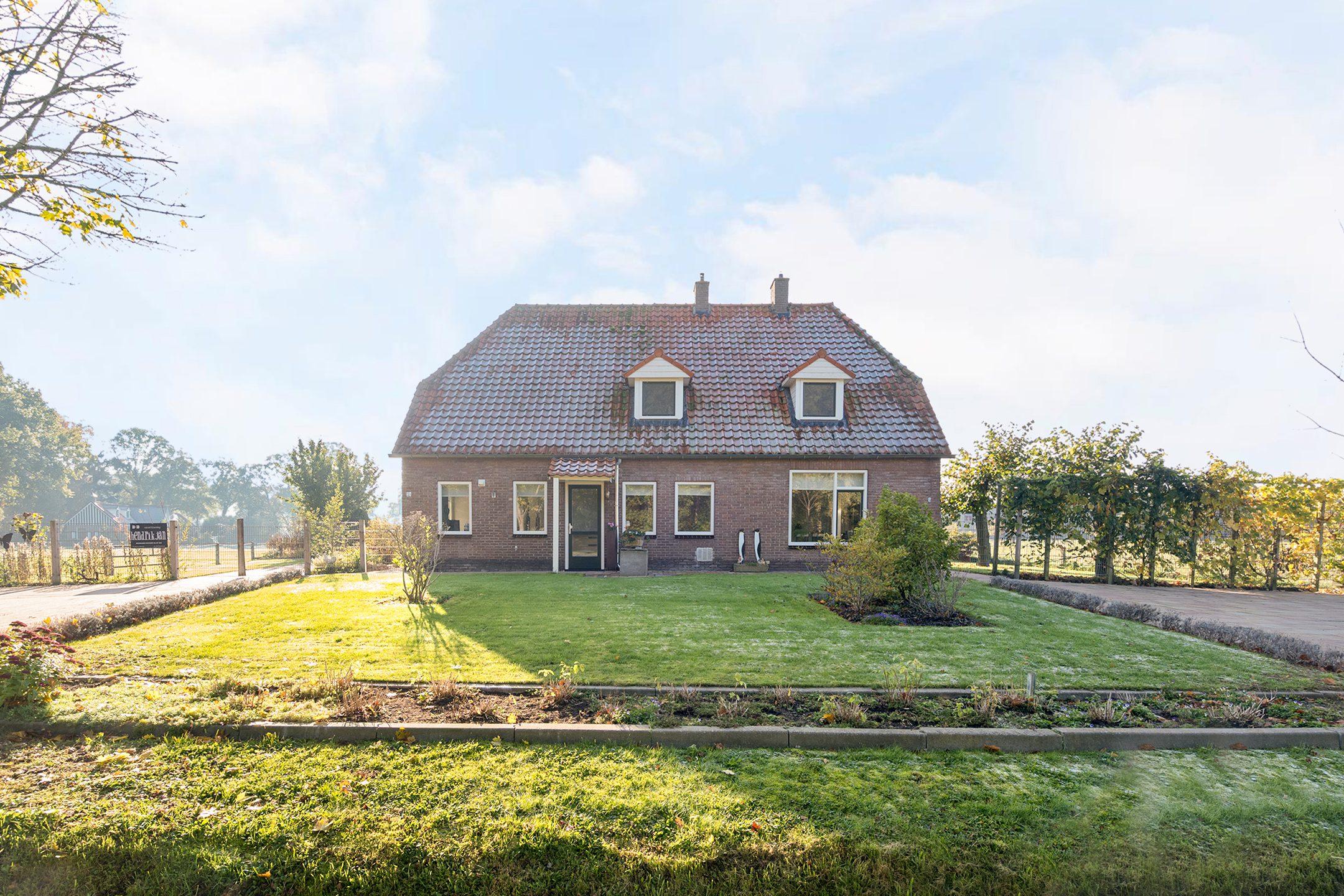 Woning met Gastenverblijf/B&B heeft ruimte, groen en rust in Dalfsen: het groenste dorp van Nederland