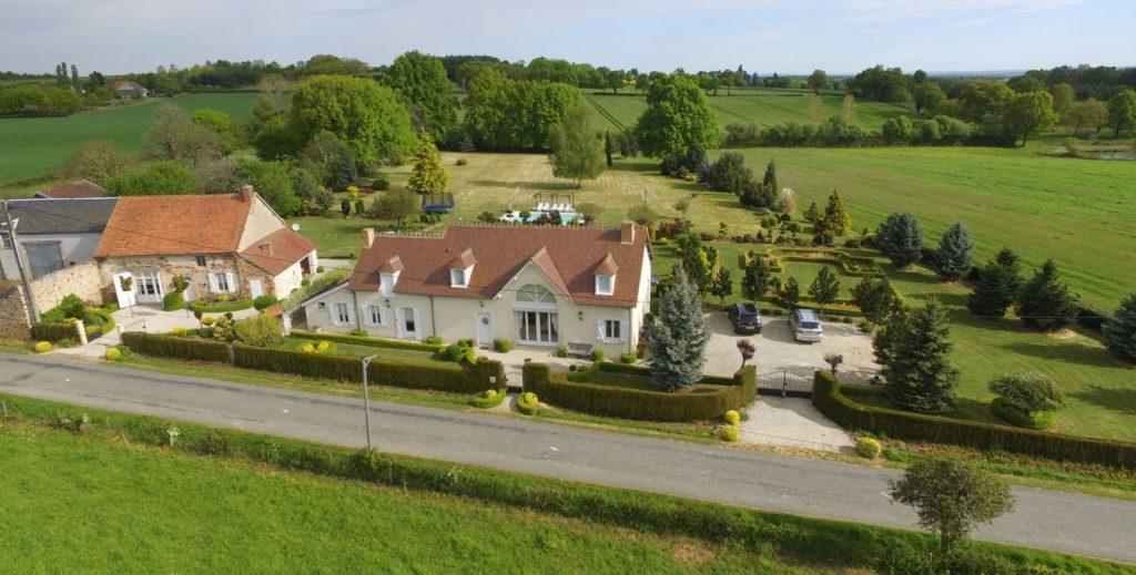 huis met gites te koop frankrijk